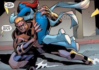 Sabretooth Saves Mystique