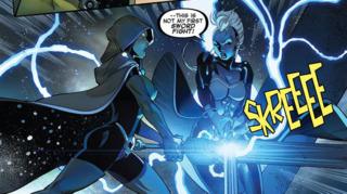 Storm vs Gamora