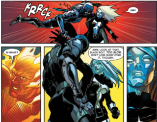 Impaling Black Bolt