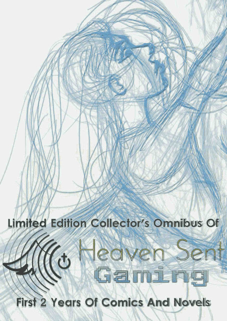 Limited Edition Collector's Omnibus of Heaven Sent Gaming's First 2 Years Of Comics And Novels