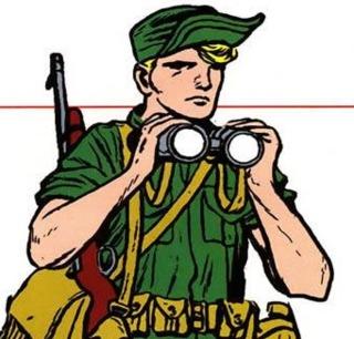 Reb as a Commando