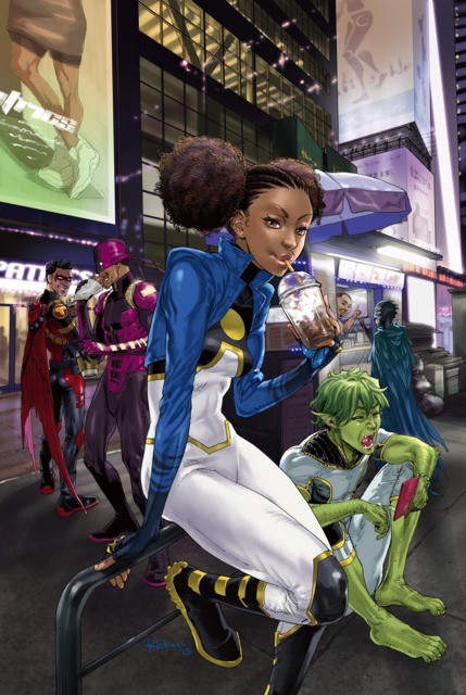 The New 52 Teen Titans