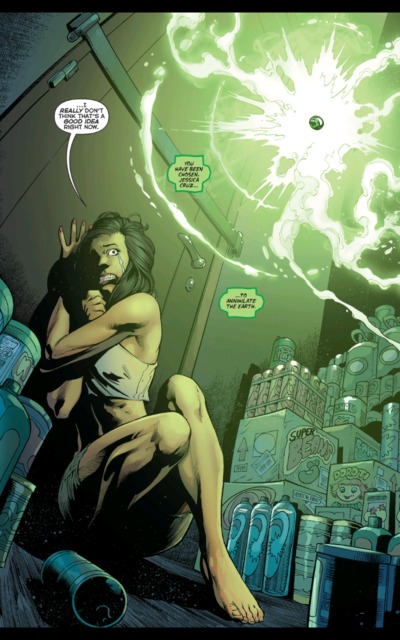 Jessica is chosen to become the new Power Ring