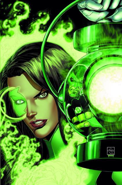 Jessica as a Green Lantern