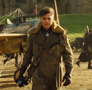 Steve Trevor as portrayed by actor Chris Pine