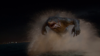 King Shark in season 2 of The Flash