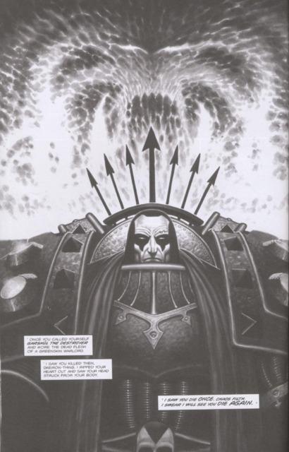 Daemon-possessed Leonatos.