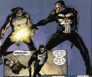 Punisher takes down Wolverine