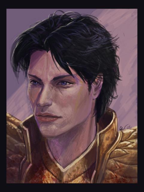 Portrait of the Sarafan Raziel