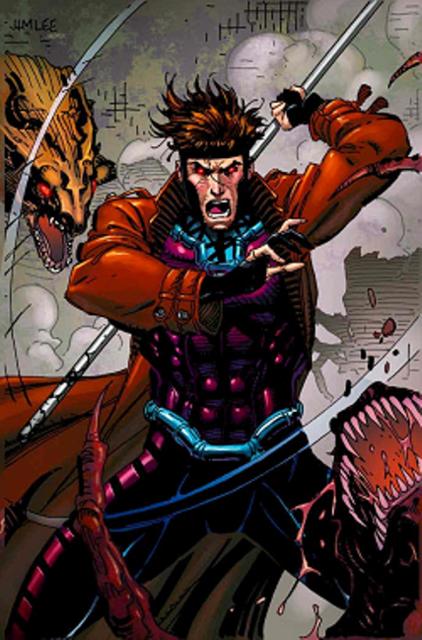 Gambit's armor