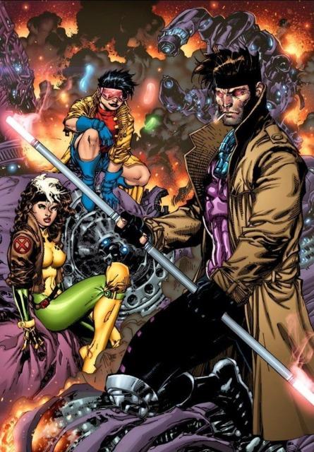 Gambit's staff