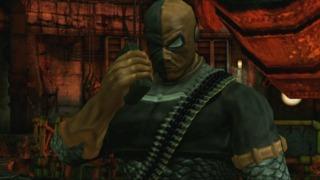 Deathstroke in Arkham City Lockdown