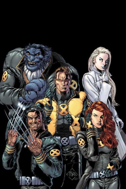 Emma with the X-Men
