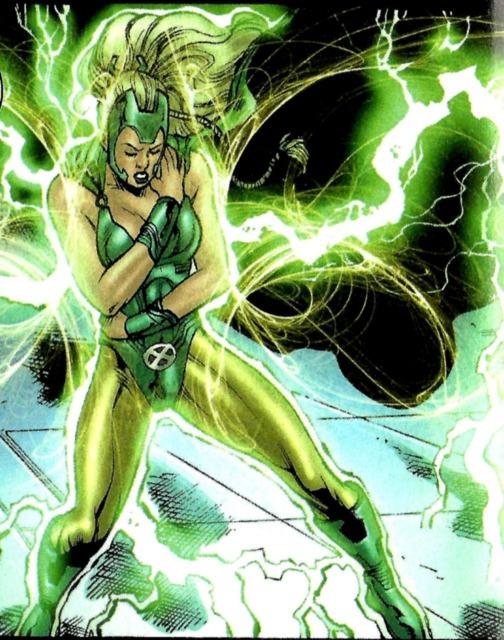 Polaris using her powers