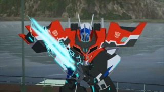 Optimus Prime in Robots in Disguise