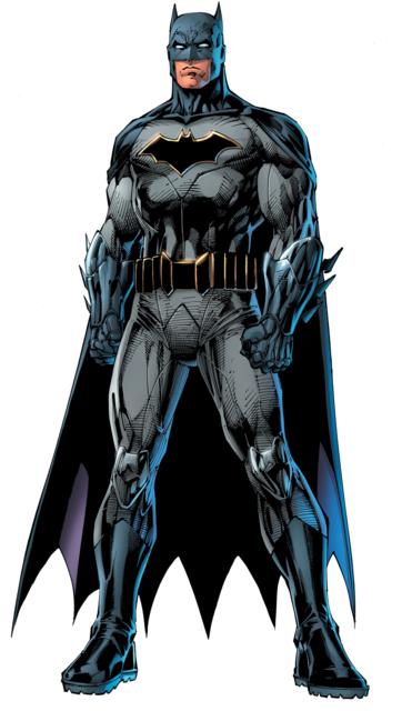 Batman's Rebirth re-design