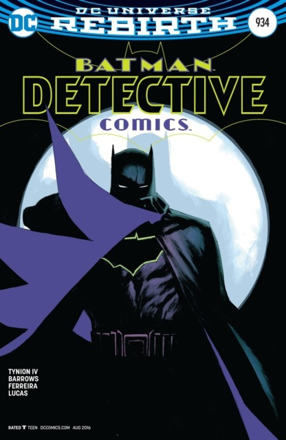 Variant Cover for Detective Comics: Rebirth