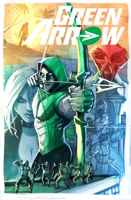 green arrow rebith