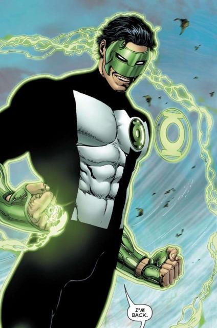 Kyle Rayner comic book characters