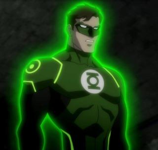 Green Lantern in JL: War