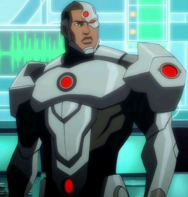 Cyborg in JL: War