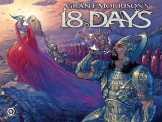 Grant Morrison's 18 Days – The Mahabharata – The Illustrated Scriptbook