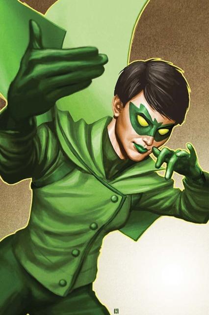 Mulan Kato as The Green Hornet