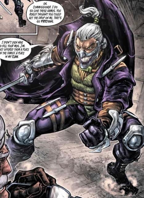The Laughing Man in Batman/Teenage Mutant Ninja Turtles III