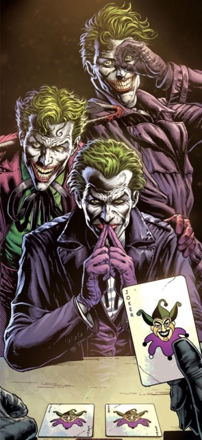 Three Jokers (The Criminal, The Comedian, & The Clown)