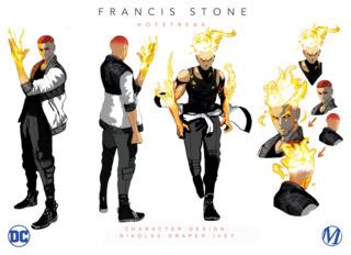Earth-M's Hostreak (Francis Stone)