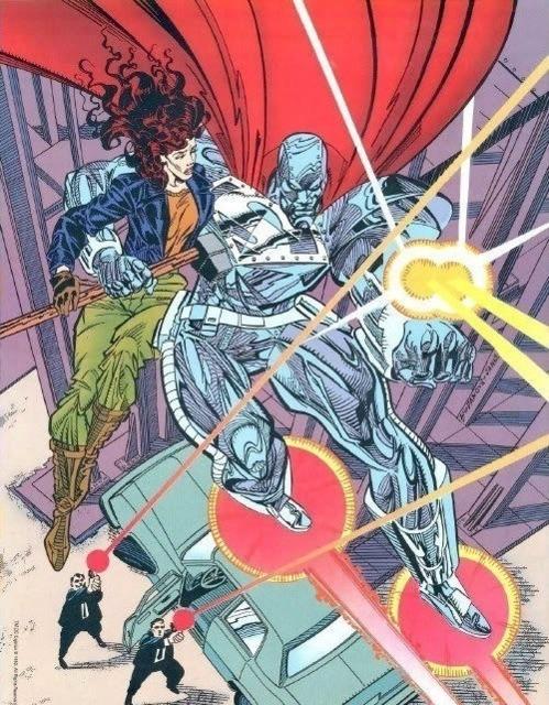 Steel saving Lois Lane