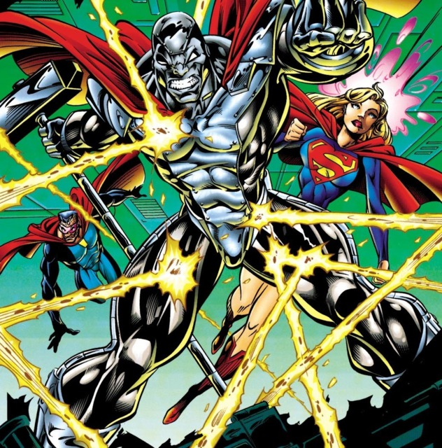 Steel, Supergirl & Eradicator