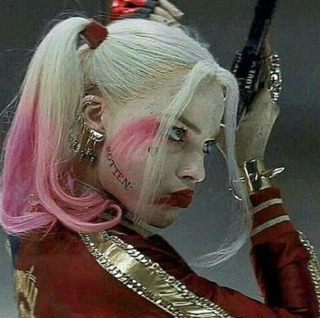 Harley in the Suicide Squad movie