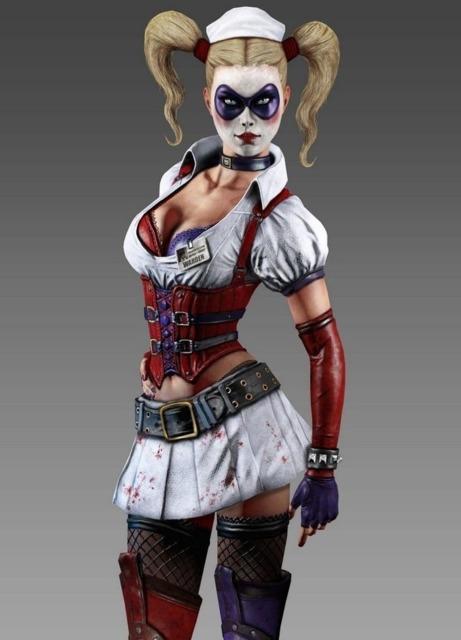 Batman Arkham Asylum Harley Quinn