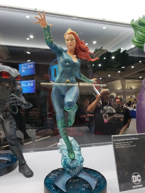 A statue of Mera inspired by the upcoming Aquaman movie
