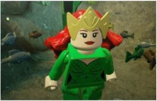 Queen Mera from Lego Aquaman Rage of Atlantis
