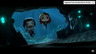 Queen Mera and Aquaman by Funko