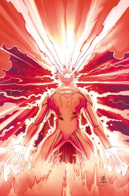 Superman using Super/Solar Flare