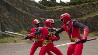 Dane, Mick & Brody; Red Ninja Steel Ranger (s)