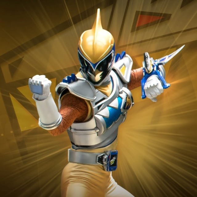 Gold Dino Charge Ranger