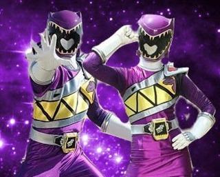 Albert & Kendall; Purple Dino Charge Ranger (s)