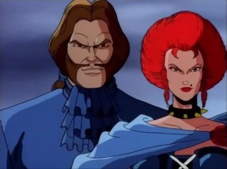 Mastermind and Jean in X-Men: The Animated Series