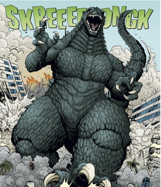 Godzilla appeared in Godzilla: Rulers of Earth.