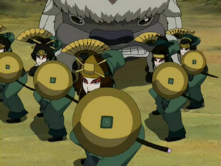 The KyoshiWarriors on guard