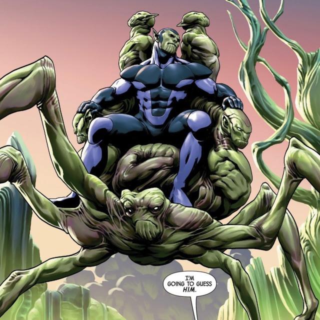 K'lrt as ruler of the Skrull Empire