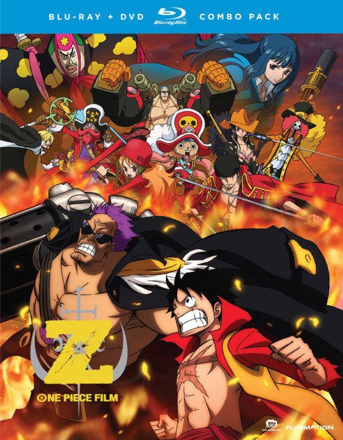 One Piece DVD/Blu-ray Combo Pack (2014)