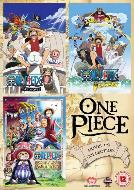One Piece Movie Collection 1