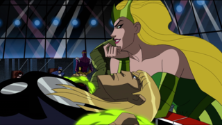 Amora telling Thor that she is using Zemo