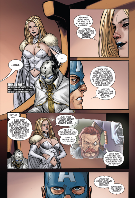 Revealing Xorn to be her puppet
