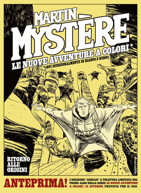 Martin Mystère - Le Nuove Avventure a Colori Seconda Serie